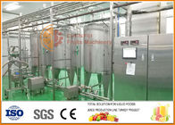 China SS304 Blending System , High Effiency Complete Juice And Jam Blending line factory