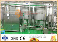 China Automatic  Blending System ,  Juice And Jam Blending and filling line factory