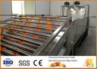 60T/H Apple Juice Production Line SUS304 Material , Apple Processing Plant