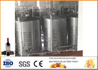 China Mulberry Fruit Wine Fermentation Equipment 304 Stainless Steel Material 12 Months Warranty company