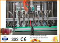 China 1500 bottles Beverage Processing Plant , Jam Production Line Per Hour factory