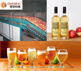 China Energy Saving Fermentation Equipment Small Capacity Apple Pear Fruit Wine Production Line factory