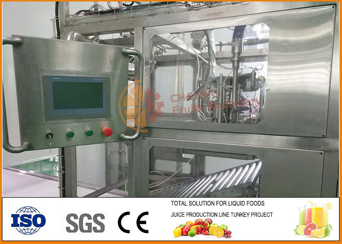 SS304 automatic Aseptic juice and jam Filling Machine 5L 240 Bags /h