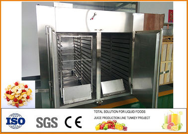 Dried Fruit And Vegetable Processing Line 304 / 316 Stainless Steel Material