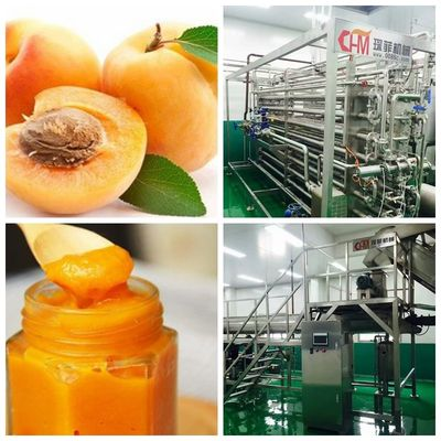 Peach \ Apricot \ Glass Bottle Beverage Production Line Per Hour